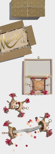 Mini Piñata Fiesta | Will You Be My Bridesmaid? Box | Sugar & Gold