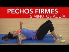 8 ejercicios para unos pechos firmes con solo 5 minutos al día - YouTube