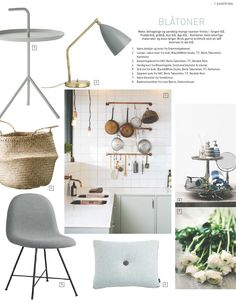 #ClippedOnIssuu from TENDENS NR.1 / 2014 Material Board, Kitchen Trends, Home Organization, Future House, Interior Inspiration, Beach House, Goodies, Palette, Layout