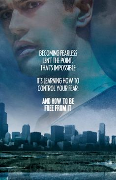 Love this quote from Divergent