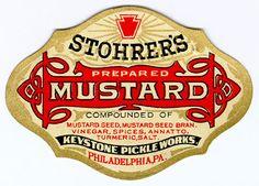 Stohrer's Mustard Label