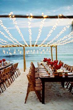 Gorgeous Beach Wedding Decoration Ideas ❤ We propose beach wedding decoration ideas for guests book, centerpieces, beach signs, aisles and arches. See more: http://www.weddingforward.com/beach-wedding-decoration-ideas/ #wedding #beach #decor