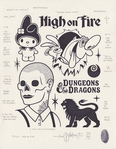 High on Fire by Mike Giant, 2014.