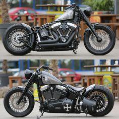Thunderbike customized Harley-Davidson Softail Fat Boy