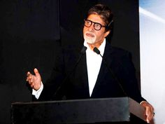 Amitabh Bachchan at the International Film Festival of Marrakech.