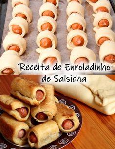 Hot Dog Buns, Hot Dogs, Coco Disney, Good Food, Yummy Food, Sausage Rolls, Frittata, Tapas, Picnic