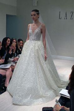 Lazaro Spring New York Bridal Market Lazaro Wedding Dress, Wedding Dress Trends, Dream Wedding Dresses, Wedding Gowns, Lazaro Bridal, Wedding Ideas, Bridal Skirts, Bridal Gowns, Bridal Cape