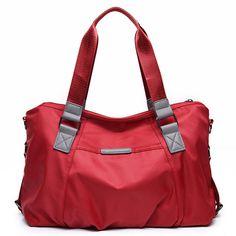 Women Nylon Waterproof Handbag Durable Shoulder Bag Crossbody Bag Tote Bag 536b0025227aa