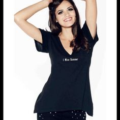 """Wildfox Black Tee Small Cozy soft material WF is known for in this flattering New black """"I miss Summer"""" tee with slightly asymmetrical hemline that lies perfectly on the body. Wildfox Tops Tees - Short Sleeve"""
