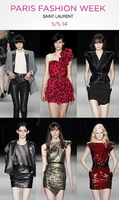 Normally a rebrand is a death sentence. .. yves Saint Laurent did the damn thing!!! The lovely Saint Laurent S/S 14