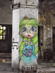 Street Art in Germany, Saxony