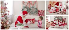 Santa Sessions in NEPA – Scranton, PA Children's portrait photographer – Dolci Momenti Photography | Dolci Momenti Photography