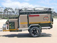 Conqueror Australia - World's Toughest Off-Road Camper Trailers Off Road Camper Trailer, Truck Camper, Camper Trailers, Mini Camper, Cargo Trailers, Utility Trailer, Offroad, Off Road Camping, Camping Stuff