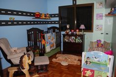 Idea for infant and toddler shared room