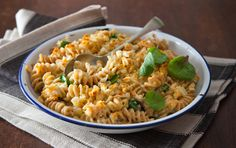 Quattro Formaggi and Spinach Spelt Spiral Pasta Bake Spiral Pasta, Baked Pasta Recipes, Pasta Bake, Couscous, Recipe Using, Spinach, Healthy Living, Yummy Food