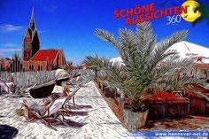 Zeit, dass Hannovers Beachclub wieder öffnet... Schöne-Aussichten-360°-Art