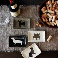 Doggy Dessert Plates from West Elm