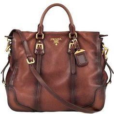 Leather Handbag #Prada