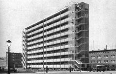 Bergpolderflat, Rotterdam Leendert van der Vlugt, Willem van Tijen, 1933-35
