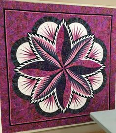 Fire Island Hosta, Quiltworx.com, Made by CI Janet Spinks