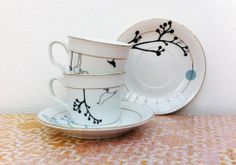 celinda.ceramics: :: Some Days Look Better Upside Down ::