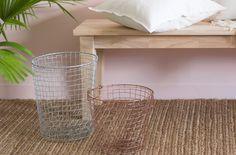 Colorful Storage Basket Makeover