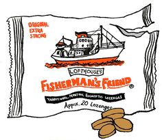 Fisherman's Friend by hwayoungjung try lemon in watercolour for Auntie Misi Food Illustrations, Illustration Art, Fishermans Friend, British Things, Drawings Of Friends, Deep Sea Fishing, Food Art, Painting & Drawing, How To Draw Hands