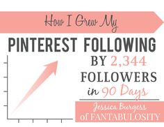 How I Grew my Pinterest Following by 2,344 Followers in 90 Days
