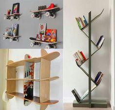 Skateboard Shelf skateboard shelves | decor | pinterest | posts, shelves and skateboard