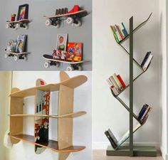 use the bottom one and the right one for books so i can get rid of my book case