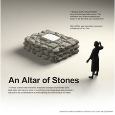 An Altar of Stones Bible Dictionary, Religious Studies, Mystery Of History, Bible Truth, Old Testament, Bible Lessons, Christian Life, Bible Scriptures, Archaeology
