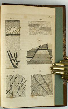 Williams, John (1810) Mineralogy, Fossils, Geology, Geography, 18th Century, Geometry, Maps, Arch, Diagram