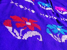 Kurta Fabric from Assam - Blue (Second) from Lal10.com