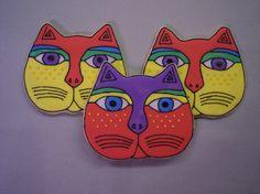 Laurel Burch Cats by GeminiRJ, via Flickr