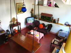 """Coloniale Heritage"" guesthouse. Pondicherry (India) Decorating Your Home, Diy Home Decor, Living Room Furniture, Home Furniture, Pondicherry India, Open Concept Home, Indian Homes, Indian Home Decor, Small Living Rooms"