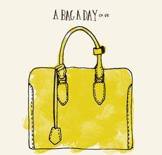 Alexander McQueen Heroine Open Tote Bag   bag illustration - abagaday.co.uk