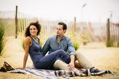 Couple Pose Boardwalk Engagement Photos by POPography.org