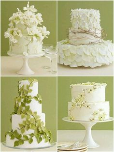 textured wedding cake with floral accents. Wedding cake of you don't like this one, you may be seeing it in ten years at my wedding wedding . Gorgeous Cakes, Pretty Cakes, Cute Cakes, Amazing Cakes, Creative Cake Decorating, Cake Decorating Techniques, Creative Cakes, Decorating Ideas, Wedding Cake Designs