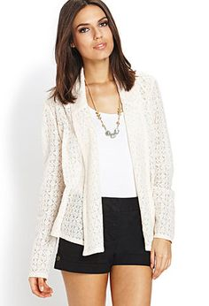 Wistful Lace Cardigan | FOREVER 21 - 2000070920