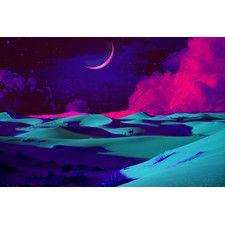 Dream Sands Graphic Art on Canvas