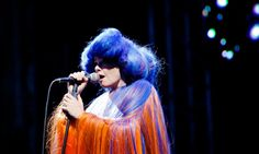 Björk's best stage fashions through the years –in pictures