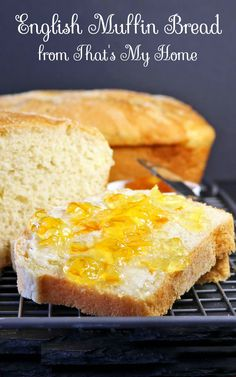 Tastes just like English muffins but in bread form. Easy to make English Muffin Bread. Quick and easy! No kneading required....