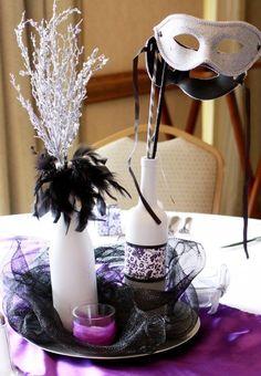winter tea Centerpiece
