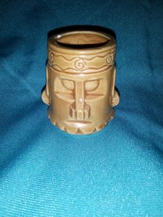 Tiki toothpick holder Japan pre 1960 - my first one!