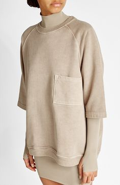 YEEZY - Oversize Cotton Top | STYLEBOP