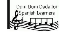#Spanishsongs for kids: Dum dum dada with Spanish lyrics. #spanishkidssongs #Spanishchildrensongs #teachingSpanish http://www.spanishplayground.net/dum-dum-dada-song-spanish/