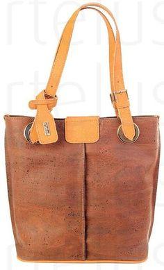 Handtasche aus Kork, Korktasche, Henkeltasche, Shopper