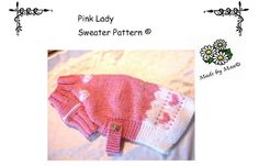 PDF PATTERN  Pink Lady Dog Sweater_e_0ttp - via @Craftsy