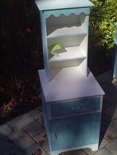 Painted Child's Cabinet handmade