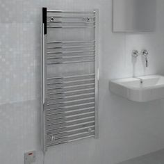 Kudox Silver Towel Warmer (H)1100mm (W)500mm Kudox Silver Towel Warmer (H)1100mm (W)500mm.A great towel warmer not only heats your towels and bathroom but will help to make your bathroom a warm and comfortable place in which to relax. Our range  http://www.MightGet.com/april-2017-1/kudox-silver-towel-warmer-h-1100mm-w-500mm.asp
